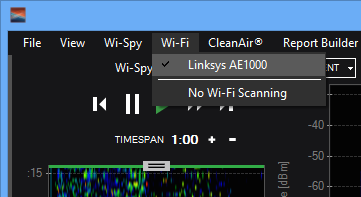 Chanalyzer + Wi-Spy User Guide – MetaGeek Support